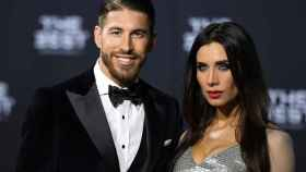 Sergio Ramos y Pilar Rubio en una imagen de archivo.