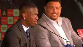Vinicius y Ronaldo Nazario