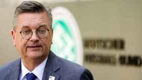 Declaraciones del presidente de la DFB en Fráncfort