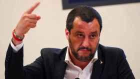 Matteo Salvini, ministro de Interior italiano.