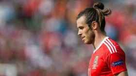 Bale, con Gales. Foto faw.cymru