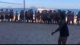 Marcelo se divierte en la playa. Foto: Instagram. (@marcelotwelve)