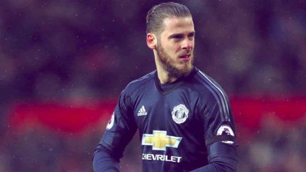 De Gea, con el United. Foto Instagram (@manchesterunited)