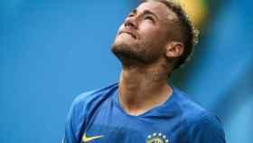 Neymar, emocionado tras su gol a Costa Rica. Foto. Instagram (@neymarjr)