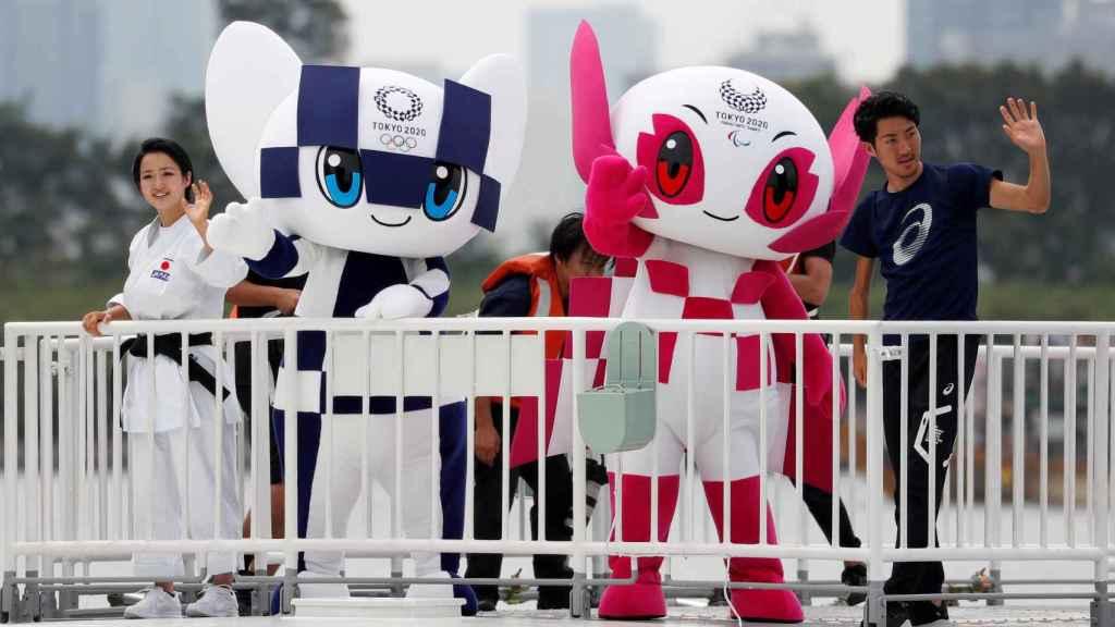 Miraitowa y Someity, las mascotas oficiales de Tokyo 2020