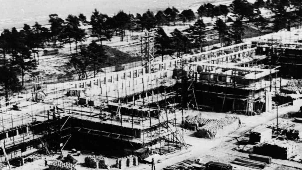 El régimen nazi construyó Prora en 1933 para satisfacer y controlar las necesidades de sus trabajadores.