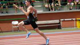 Bruno Hortelano bate su récord de España de 200 metros con 20.04