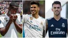 La segunda línea del Real Madrid