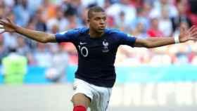 Mbappé, en la victoria de Francia. Foto: Twitter (@elchiringuitotv)