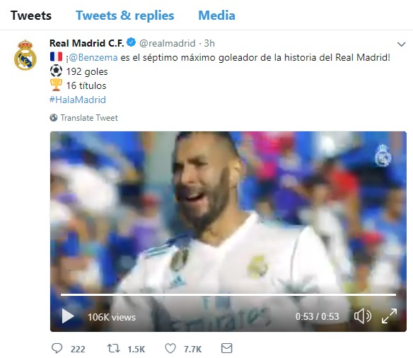 El doble guiño del Real Madrid a Benzema