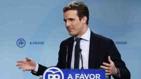 Pablo Casado, nuevo presidente del PP.