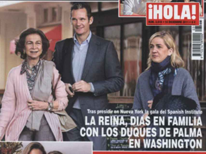 La portada de '¡HOLA!'.