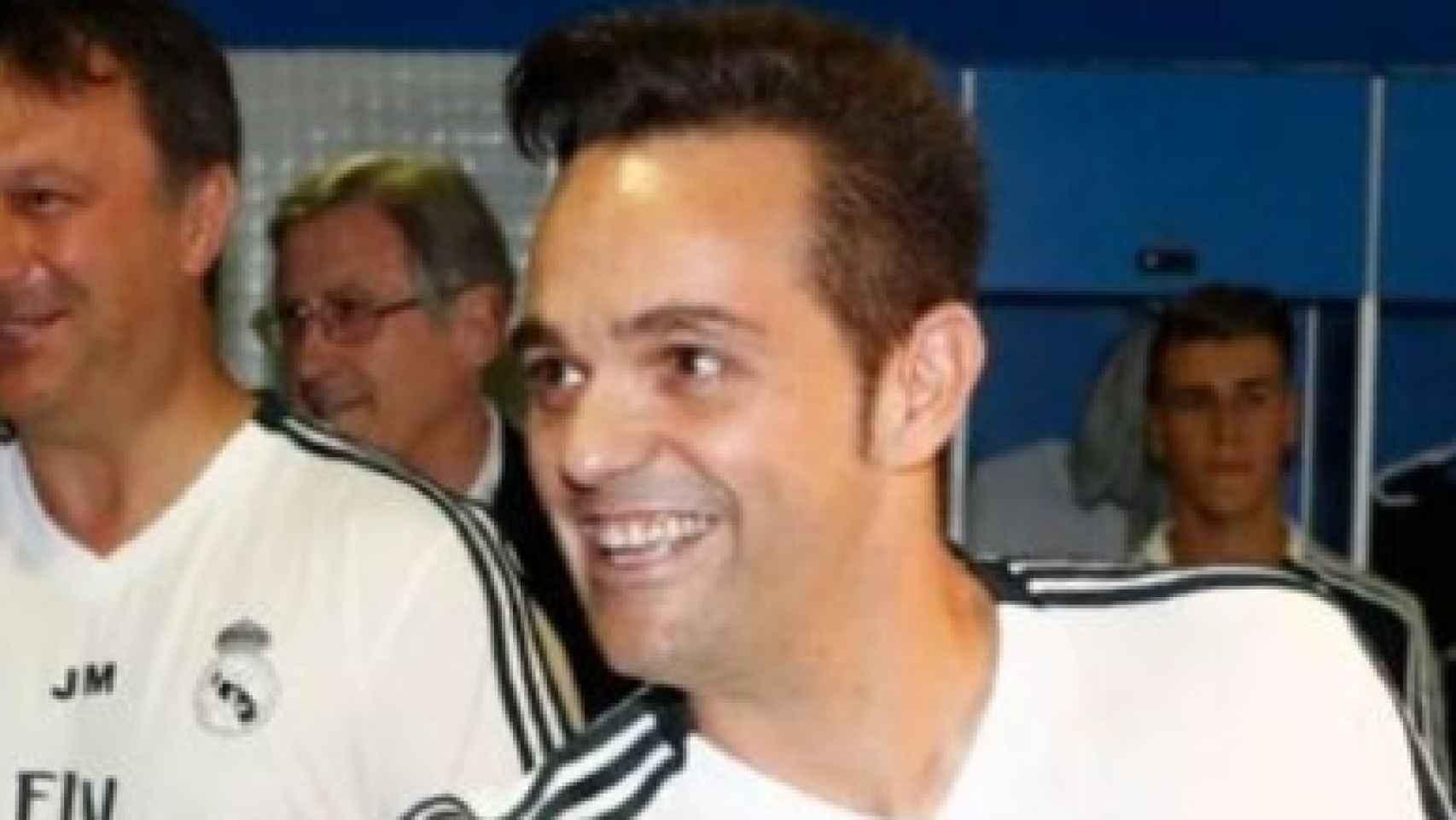 Poyatos, entrenador del Juvenil A del Real Madrid