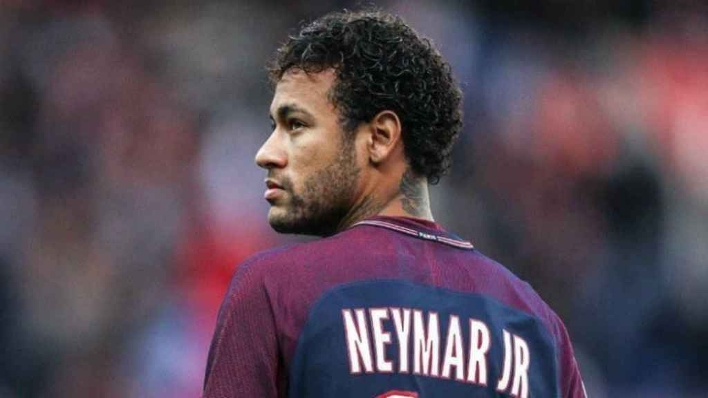 Neymar, con el PSG. Foto: Twitter (@neymarjr)