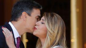 Reunión Pedro Sánchez y Susana Díaz