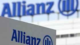 El logo de Allianz.