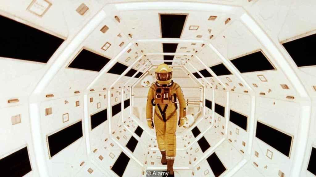 Fotograma de 2001, una odisea en el espacio.