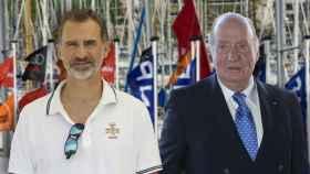 Felipe VI y Juan Carlos, reencuentro en Mallorca tras las cintas de Corinna
