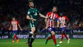 Partido entre el Betis y el Atlético
