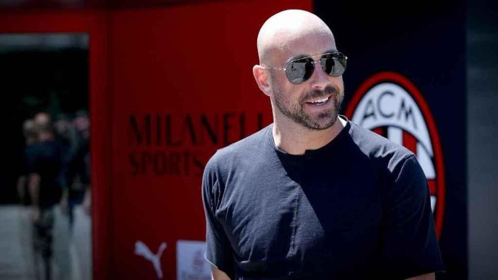 Reina ficha por el Milan. Foto acmilan.com