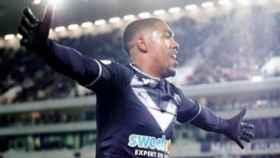 Malcom celebra un gol con el Girondins. Foto Instagram (@malcomoliveira_97)