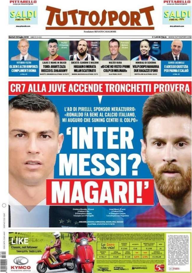 El bombazo del Inter a lo Cristiano: ¿Messi? Quizás