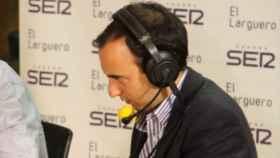 Antón Meana, periodista de la Cadena SER. Foto: cadenaser.com