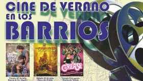 FOTO: Parte del cartel del Cine en los Barrios