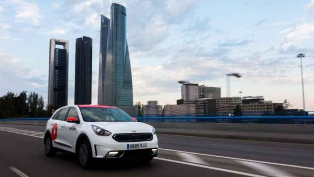 Wible, el 'carsharing' de Kia y Repsol