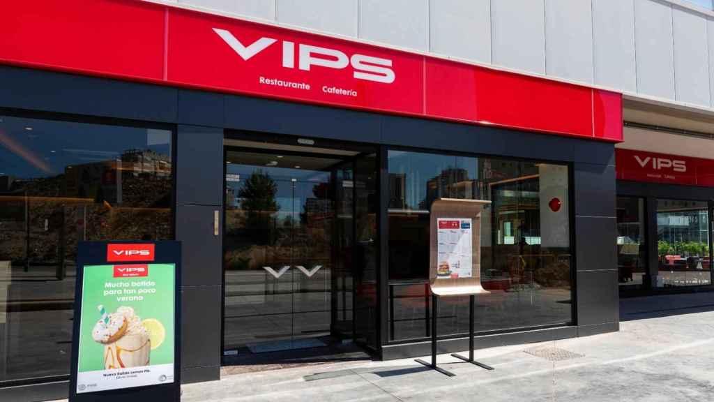 Un restaurante del Grupo Vips, una de las compañías que ha realizado el mayor ERTE hasta el momento.