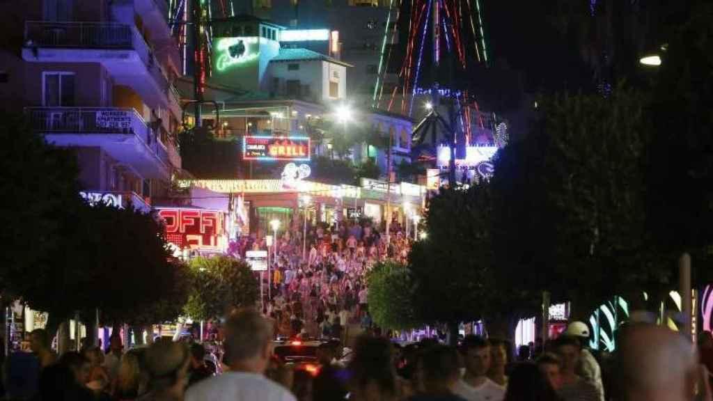 Magaluf se ha convertido en uno de los destinos más populares para ir de fiesta.