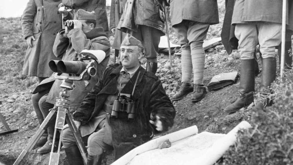 Franco en la Batalla del Ebro
