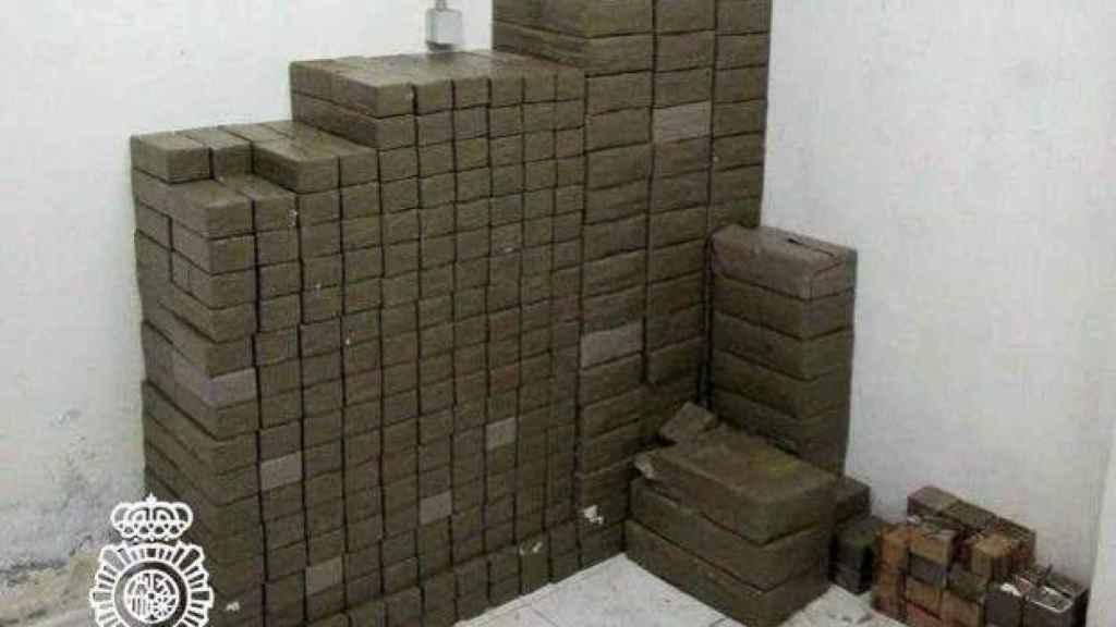 La Policía Nacional intervino más de 100 kilos de hachís