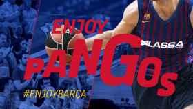Así anunció el Barcelona Lassa el fichaje de Kevin Pangos. Foto: Twitter (@FCBbasket)