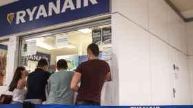 Huelga de los trabajadores de cabina en Ryanair