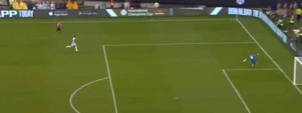 Ulreich falla en el primer gol de la Juventus ante el Bayern Múnich en la International Champions Cup