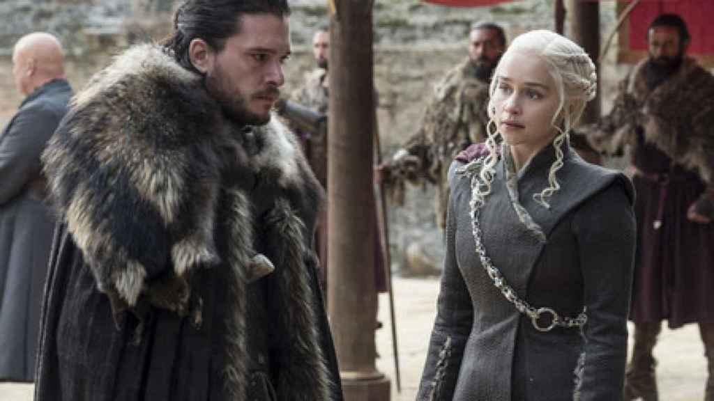 Jon Nieves y Daenerys