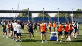 El equipo entrena a las órdenes de Julen Lopetegui
