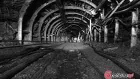 Foto mina de interior