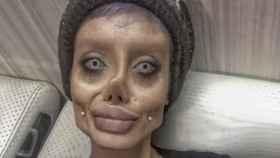 La momia de Angelina Jolie muestra su verdadera cara y parece muy viva