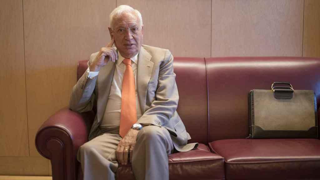 Margallo en una entrevista con EL ESPAÑOL.