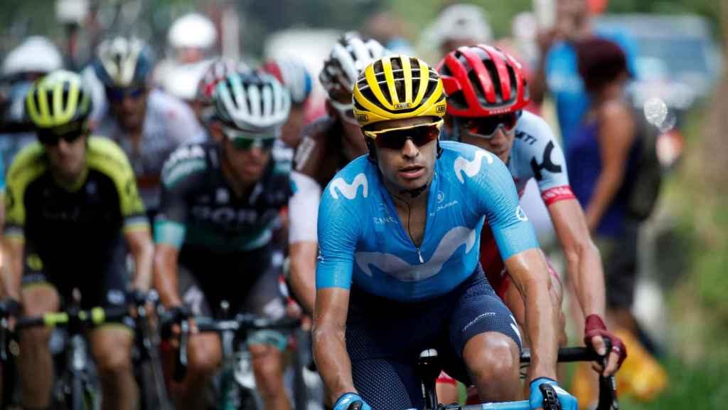 Mikel Landa durante la 19ª etapa del Tour de Francia.