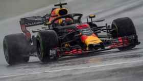 Ricciardo, durante el Gran Premio de Hungría.
