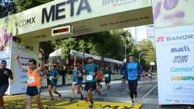 Media Maratón de Ciudad de México. Foto: 21kcdmx.com