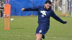Mario Ricardo entrenando. Foto: Twitter (@MarioEn08845319)