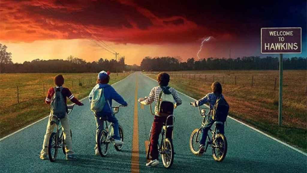 'Stranger Things', una de las series estrella de Netflix que se podrán ver en la interfaz de Telefónica.