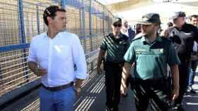 Albert Rivera visita a la valla de Ceuta