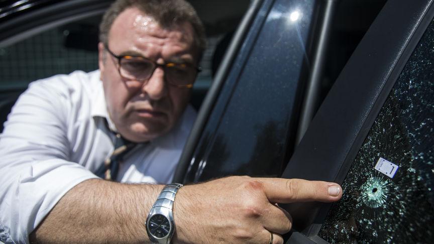 disparo coche cabify disputa taxi