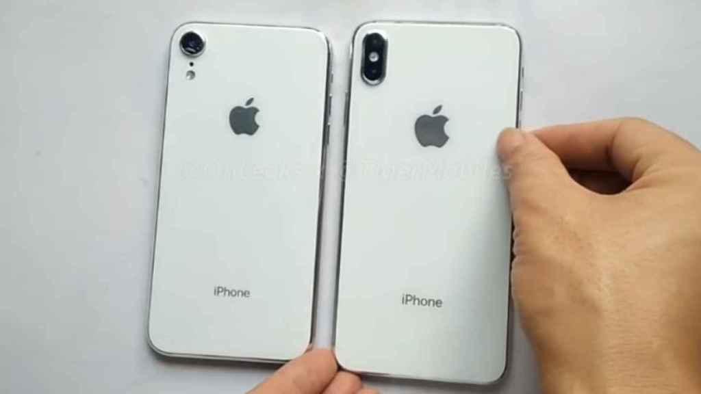 Los Nuevos Iphone X Y X Plus Filtrados En Vídeo