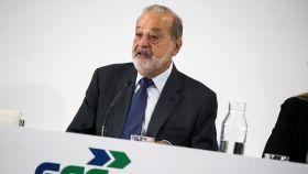 Carlos Slim, presidente de Realia.